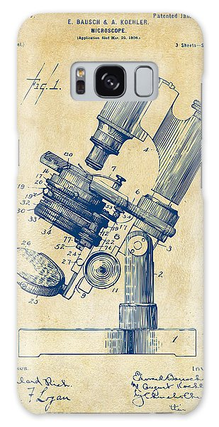 1899 Microscope Patent Vintage Galaxy Case