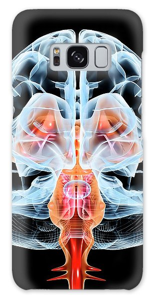 Brainstem Galaxy Case - Brain by Pasieka