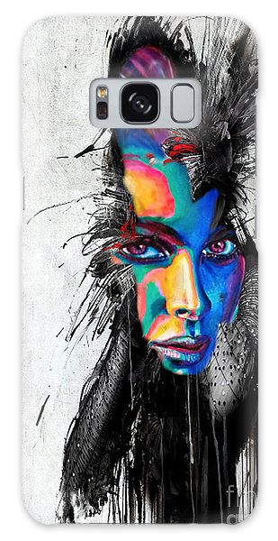 Facial Expressions Galaxy Case