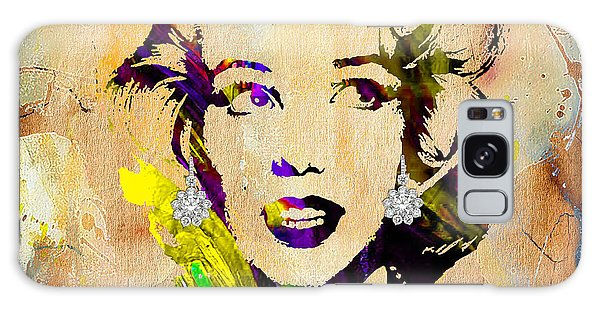 Marilyn Monroe Diamond Earring Collection Galaxy Case