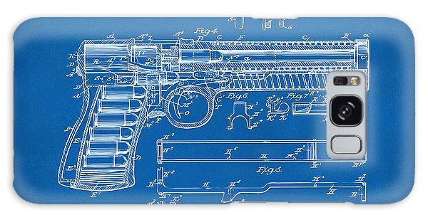 Weapons Galaxy Case - 1903 Mcclean Pistol Patent Artwork - Blueprint by Nikki Marie Smith