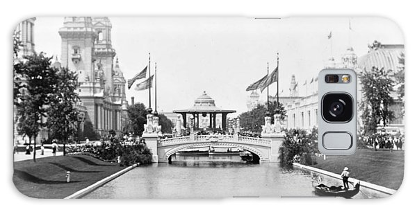 1904 Worlds Fair Lagoon And Electricity Building Galaxy Case