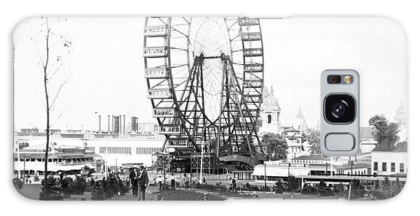 1904 Worlds Fair Observations Wheel Ferris Wheel Galaxy Case