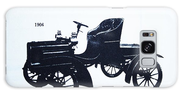 1906 Walker Runabout Galaxy Case by Steven Parker