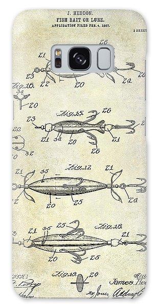 1907 Fishing Lure Patent Galaxy Case