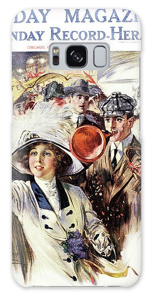 Vintage Chicago Galaxy Case - 1910s 1912 Cover Sunday Magazine by Vintage Images
