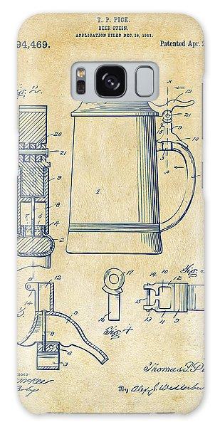 Bar Galaxy Case - 1914 Beer Stein Patent Artwork - Vintage by Nikki Marie Smith