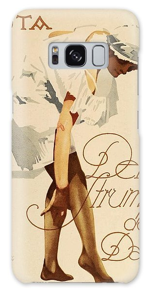 1920 - Guta Stockings Advertisement - Ludwig Hohlwein - Color Galaxy Case