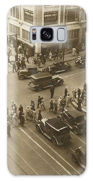 1920s Dallas Downtown Galaxy Case