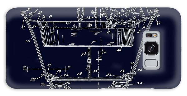1922 Baby Carriage Patent Art Blueprint Galaxy Case