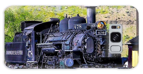 1923 Vintage  Railroad Train Locomotive  Galaxy Case