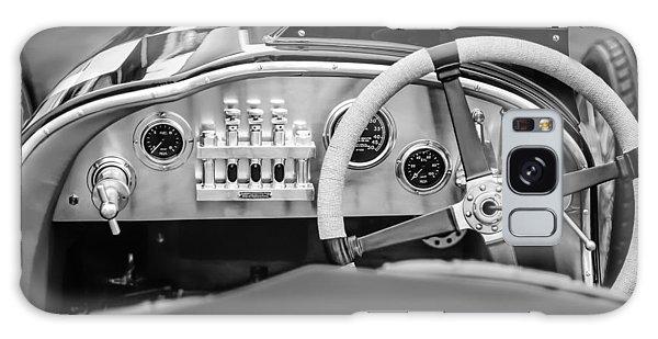 Martin Galaxy Case - 1925 Aston Martin 16 Valve Twin Cam Grand Prix Steering Wheel -0790bw by Jill Reger