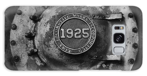1925 Locomotive Train Engine Galaxy Case by Carrie Cranwill