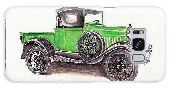 Old Truck Galaxy Case - 1926 Ford Truck by Heather Stinnett