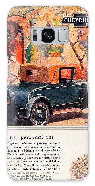 1927 - Chevrolet Advertisement - Color Galaxy Case