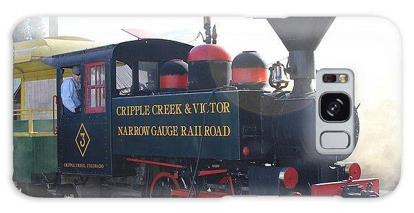 1927 Porter Train Engine Galaxy Case by Steven Parker