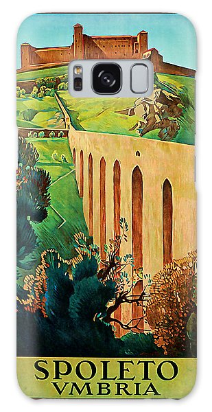 1927 Spoleto Vintage Travel Art Galaxy Case by Presented By American Classic Art