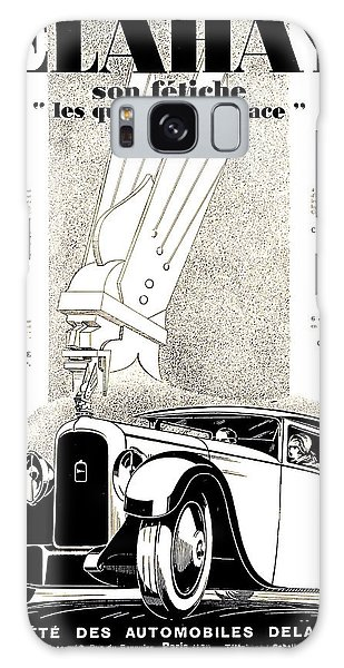 1928 - Delehaye Automobile Advertisement Galaxy Case