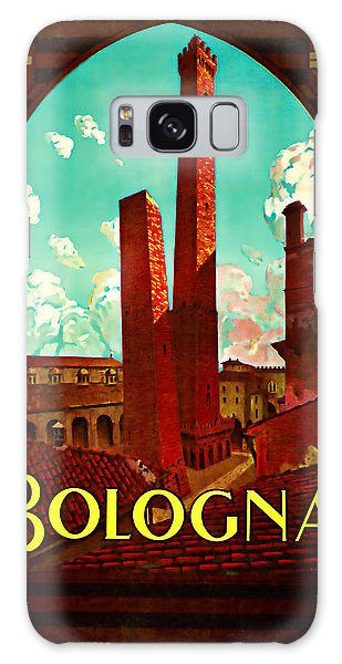 1928 Bologna -  Vintage Travel Art Galaxy Case by Presented By American Classic Art