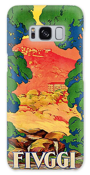 1928 Fivggi Vintage Travel Art Galaxy Case by Presented By American Classic Art