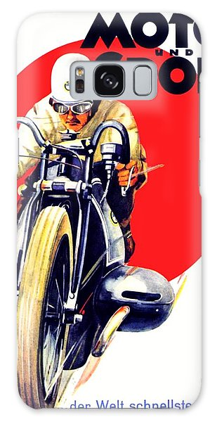 1929 - Bmw Motorcycle Poster - Color Galaxy Case