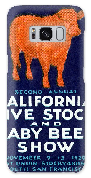 1929 California Beef Galaxy Case by Historic Image
