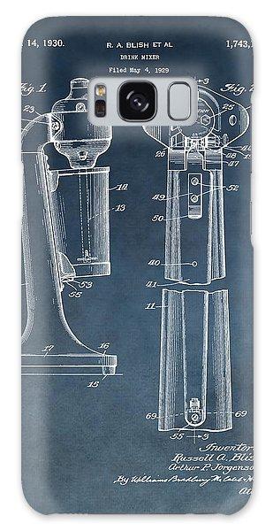 1930 Drink Mixer Patent Blue Galaxy S8 Case