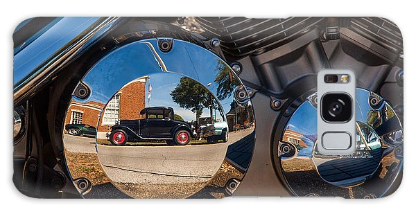 1930 Ford Reflected In 2005 Honda Vtx Galaxy Case