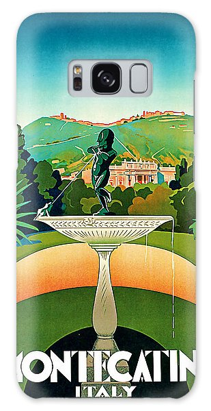 1930 Montecatini Italy Vintage Travel Art Galaxy Case by Presented By American Classic Art
