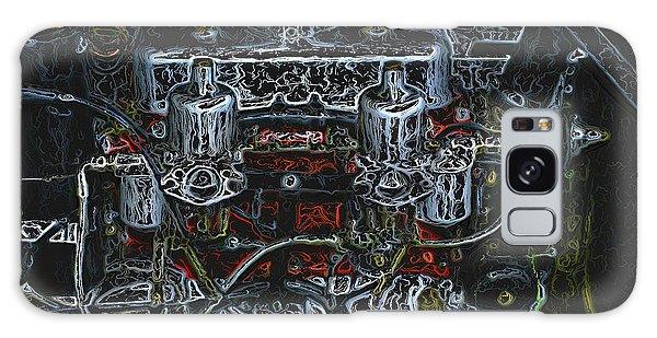 1932 Frazer Nash Tt Engine Detail Digital Art Galaxy Case