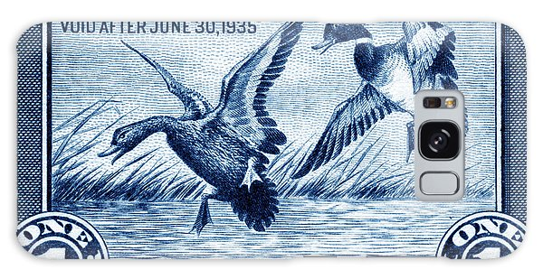 1934 American Bird Hunting Stamp Galaxy Case