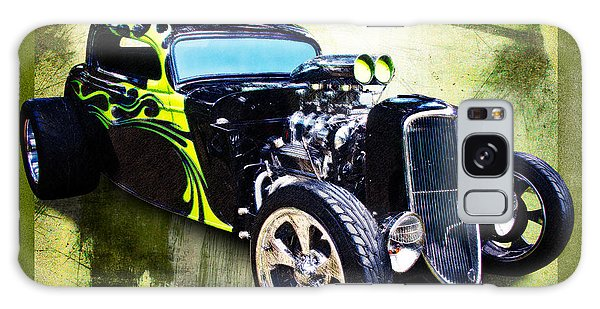 1934 Ford Three Window Coupe Hot Rod Galaxy Case