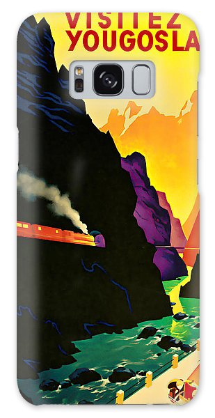1935 Visitez La Yougoslavie - Vintage Travel Art Galaxy Case by Presented By American Classic Art