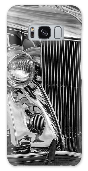 American Steel Galaxy Case - 1936 Ford Stainless Steel Grille -0376bw by Jill Reger