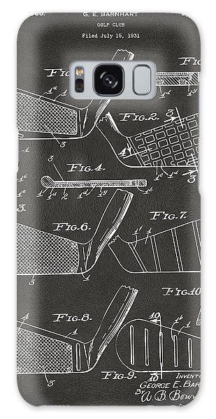1936 Golf Club Patent Artwork - Gray Galaxy Case