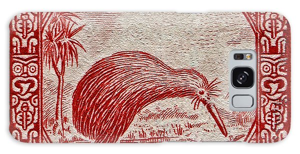 1936 New Zealand Kiwi Stamp Galaxy Case