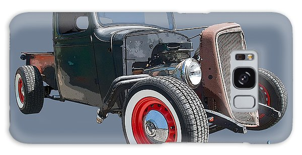 Patina Galaxy Case - 1936 Rat Rod Chevy Pickup by Chas Sinklier