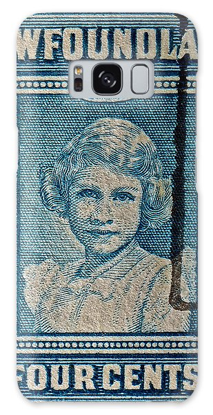 1938 Queen Elizabeth II Newfoundland Stamp Galaxy Case