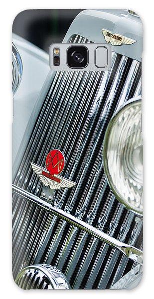 Martin Galaxy Case - 1939 Aston Martin 15-98 Abbey Coachworks Swb Sports Grille Emblems by Jill Reger