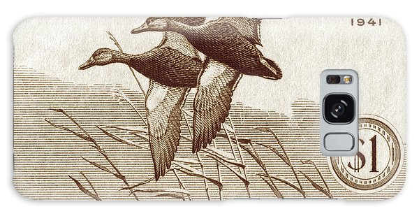 1940 American Bird Hunting Stamp Galaxy Case