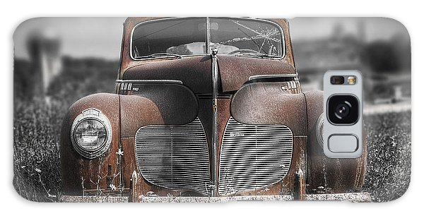Vintage Cars Galaxy Case - 1940 Desoto Deluxe With Spot Color by Scott Norris