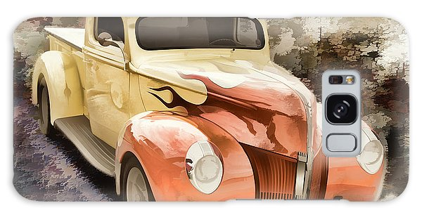 1940 Ford Pickup Truck Painting Car Or Automobile In Color  3133 Galaxy Case