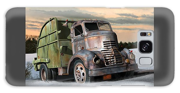1940 Gmc Garbage Truck Galaxy Case