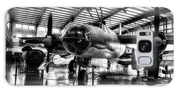 1940 Martin B-26 Marauder In Hdr  Galaxy Case by Michael White