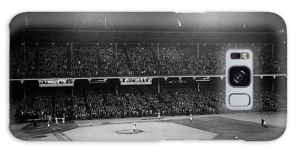 Brooklyn Dodgers Galaxy Case - 1940s 1947 Baseball Night Game by Vintage Images