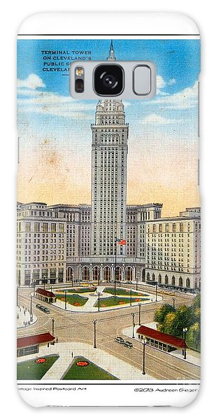 1940s Terminal Tower Cleveland Ohio Galaxy Case