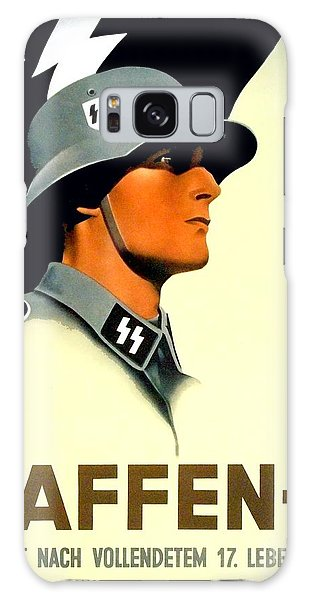 1941 - German Waffen Ss Recruitment Poster - Nazi - Color Galaxy Case