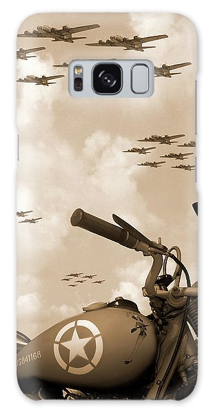 Fighter Galaxy Case - 1942 Indian 841 - B-17 Flying Fortress' by Mike McGlothlen