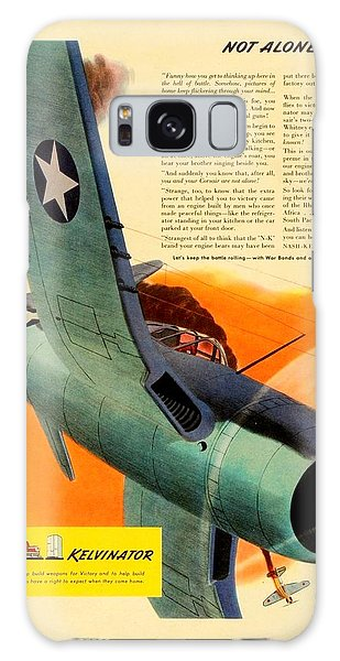 1943 - Nash Kelvinator Advertisement - Corsair - United States Navy - Color Galaxy Case