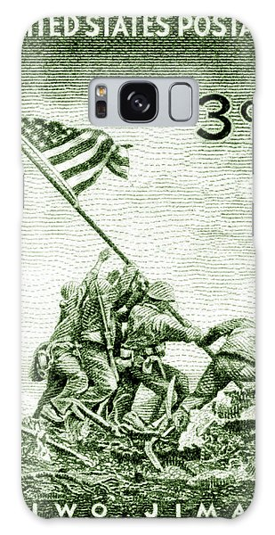 1945 Marines On Iwo Jima Stamp Galaxy Case